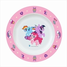 MY LITTLE PONY FRIENDSHIP 8-INCH MELAMINE DEEP PLATE