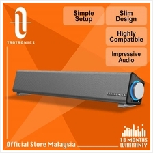 TaoTronics SK018 Stereo USB Powered Mini Soundbar Slim Design