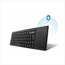 Light Weight Bluetooth Wireless Keyboard with Numeric Keypad Touch Pad