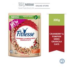 Nestle Fitnesse Granola Oats Cranberry  & Pumpkin Seed 300g)