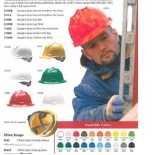 PPE Safety Helmet Bullard Full Brim 4Point Ratchet Suspension 71WHB