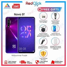 Huawei Nova 5T (8GB/128GB) + 7 Free Gift Worth RM649