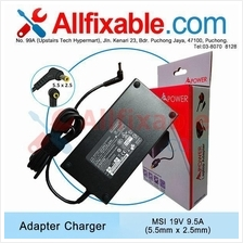 MSI 19V 9.5A GT70 GT70-0NH Dragon Workstation Adapter Charger