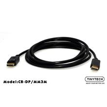 Tinytech Display Port Male to Male 3m (CB-DP/MM3M)