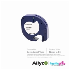 Allyco Letra Label Tape 12mm - Paper