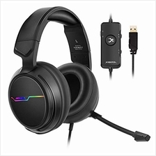 [Good Choice]XIBERIA V20 Gaming Headset with USB Port and 7.1 Surround Sound L