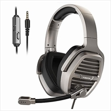 [Good Choice]XIBERIA V21 3.5mm Silver Gaming Headset Over-Ear Stereo Gaming He