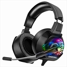 [Good Choice]ONIKUMA PS4 Headset Xbox One Headset with Mic Gaming Headset for