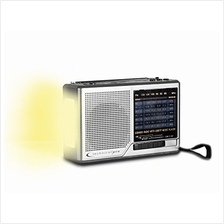 [Free shipping]Technical Pro AM/FM/SW Radio Portable Speaker (Silver)
