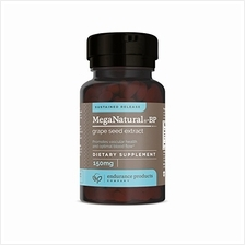 [Good Choice]Meganatural-BP Grape Seed Extract Sustained Release Tablets 60 Co