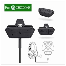 [Good Choice]Xbox Stereo Headset Adapter Audio Game For Microsoft One Controll