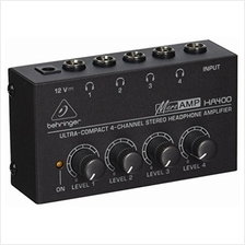 [Free shipping]Behringer Microamp HA400 Ultra-Compact 4-Channel Stereo Headpho