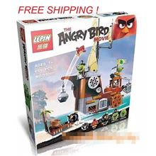 2016 ANGRY BIRDS MOVIE 75825 PIGGY PIRATE SHIP LEGO COMPATIBLE BRICK
