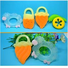 Cute Design Soft Silicone Teething Period Baby Teether