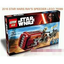 2016 STAR WARS RAY'S SPEEDER 75099 LEGO COMPATILE BRICK