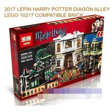 2017 HARRY POTTER DIAGON ALLEY LEGO 10217 COMPATIBLE BRICK
