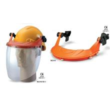 Safety Helmet Carrier W Spherical Clear Visor For Proguard Advantage 1