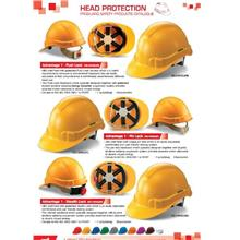 Safety Helmet Proguard Advantage 1 Terylene Webbing Push Pin Stealth