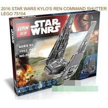2016 STAR WARS KYLO'S RYAN COMMAND SHUTTLE LEGO 75104 BRICK