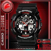 CASIO G-SHOCK GA-100-1A4 WATCH ☑ORIGINAL☑