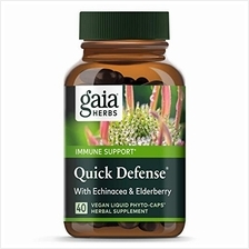 [USA shipping]Gaia Herbs Quick Defense Fast-Acting Immune Support Echinacea Gi