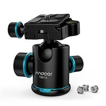 [Free shipping]Andoer Tripod Head Tripod Ball Head 360 Degree Rotating Panoram