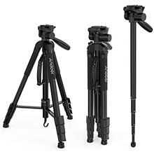 [Free shipping]Andoer TTT-666R Camera Tripod Monopod Travel Portable Lightweig