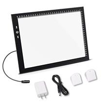 [Free shipping]A4 Led Light Box Light Pad New Improved Structure Touch Dimmer