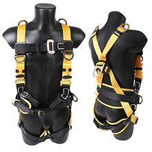 [FromUSA]X XBEN Comfortable Roofing Fall Protection Safety Harness 5D-Ring Ful
