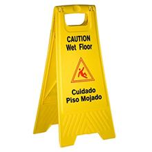 [FromUSA]TigerChef PLWFC024@8PK Tiger Chef Wet Floor Caution Sign Yellow Plast