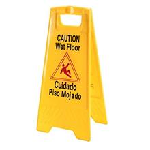 [FromUSA]2 Pack ABCO Products 2-Sided Wet Floor Caution Sign English / Spanish