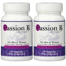 [USA shipping]2 Bottles Passion Rx with Yohimbe 30 Capsules - Formulated by Ra