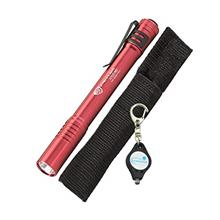 [From USA]Streamlight 66120 Stylus Pro LED Penlight Red with a Lumintrail Keyc