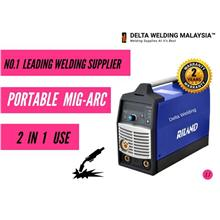 DELTA 180A Inverter (2 in 1)  MIG ARC welding machine