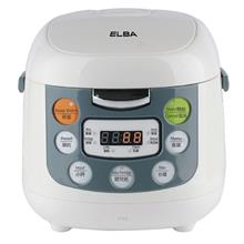 Elba 1L Microcomputer Rice Cooker - ERC-E1060(WH))