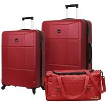 Condotti Piazza PC ABS Hard Case Set of 2 + Complimentary Travelling Bag - C02)