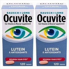 [USA shipping]Bausch + Lomb Ocuvite Vitamin & Mineral Supplement Tablets