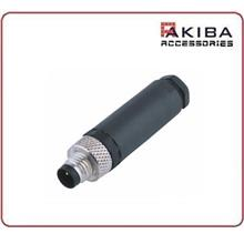 Waterproof M8 3 pin Male Assembly Connector for Aviation Encoder