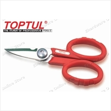 TOPTUL MULTI-PURPOSE STAINLESS STEEL ELECTRICIANS SCISSORS (SBAA0414)