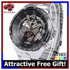 Winner Russian Original Fashion Men Man Automatic Mechanical Watch