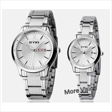 [Free Gift!] EYKI 8598 Couple Waterproof Stainless Steel Watch