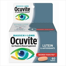[USA shipping]Bausch + Lomb Ocuvite Eye Vitamin and Mineral Supplement with Lu