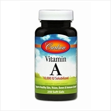 [USA shipping]Carlson - Vitamin A 10000 IU Solubilized Supports Healthy Skin V