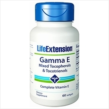 [USA shipping]Life Extension Gamma E Mixed Tocopherols & Tocotrienols 60