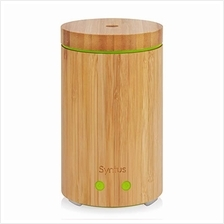 [USA Shipping]Syntus Essential Oil Diffuser Real Bamboo Diffuser 160ml Ultraso
