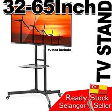 TV Cart Mobile Stand Trolley 32-65inch Screen LED LCD monitor Mount