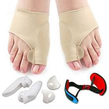 7 PCS Fine Quality Foot Protection Toe Valgus Correction Kit Silicone Toes Sep