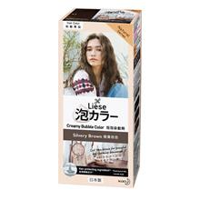 LIESE Creamy Bubble Color Silvery Brown 1s