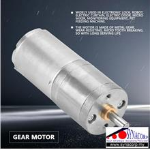 25GA370 12V 300RPM Metal Gear Low Speed High Torque Motor