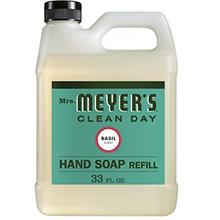 [USA Shipping]Mrs. Meyer's - Liquid Hand Soap Refill Basil - 33 Ounce